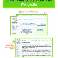Insertar archivo en Wikipedia